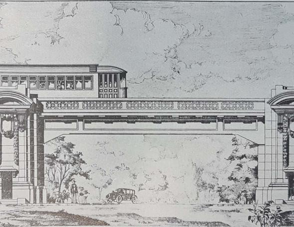 Estudos para o Tramway da Cantareira