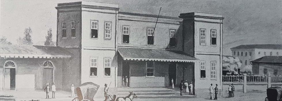 Estação da Luz, 1880