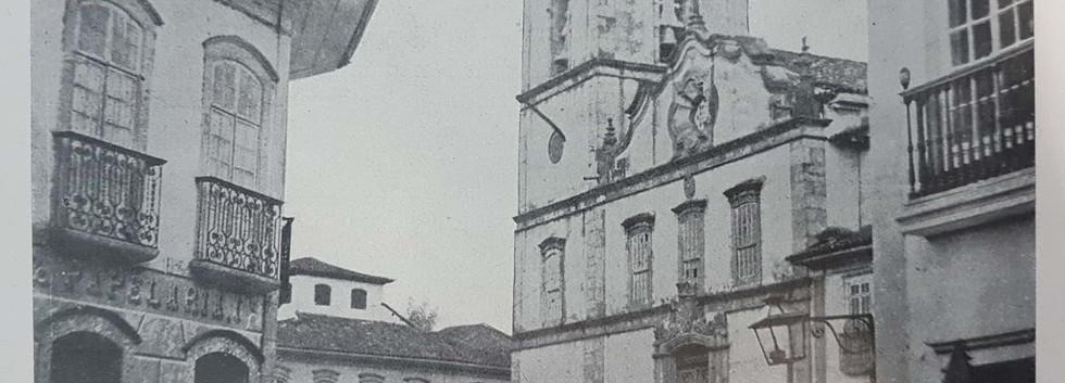 Praça da Sé em 1900