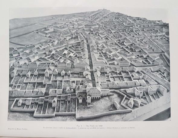 Vale do Anhangabaú, 1840