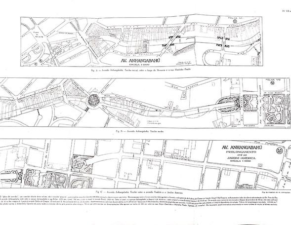 Plano da Avenida Anhangabaú