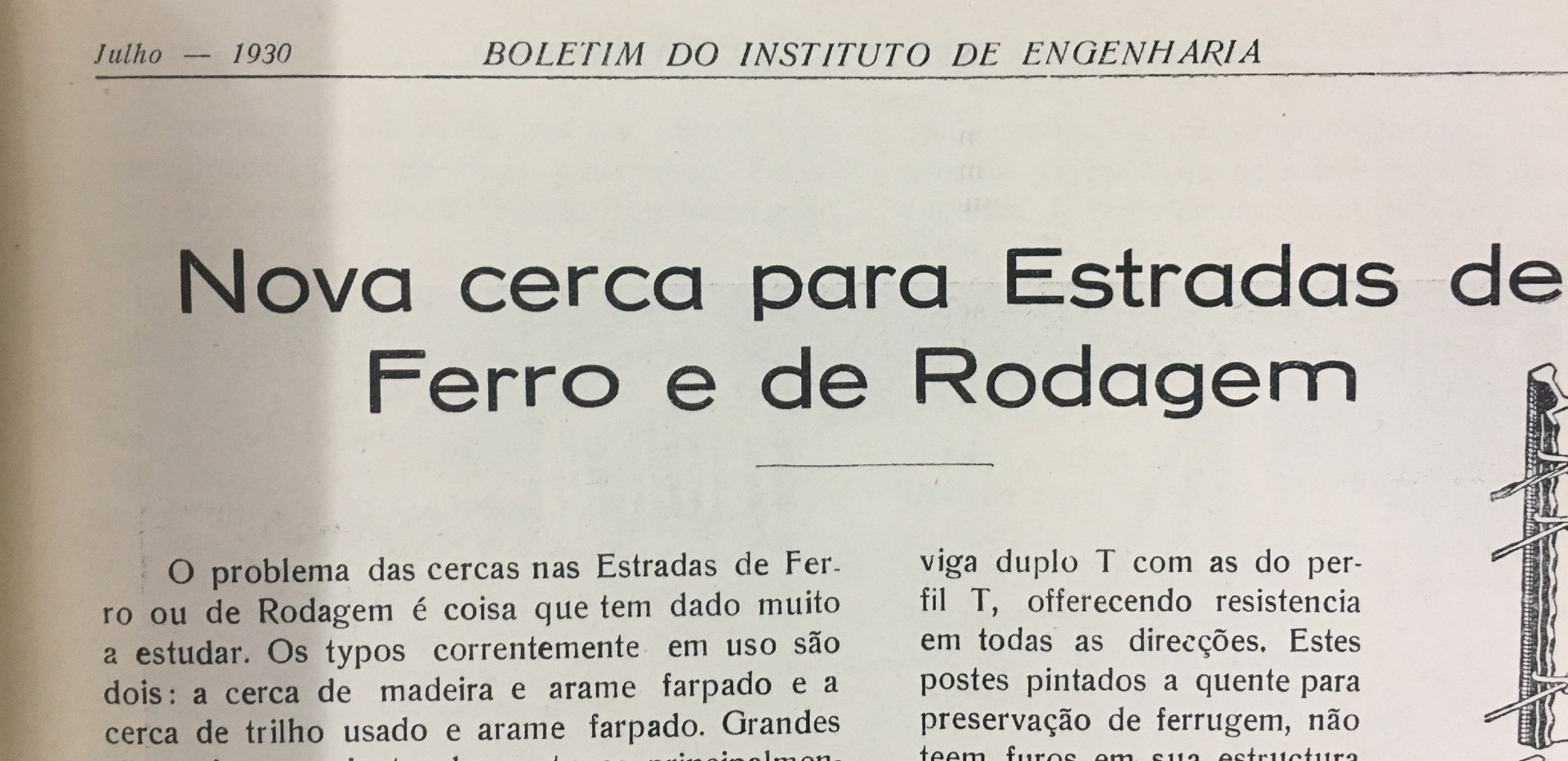 Exemplo de material do acervo da biblioteca do IE