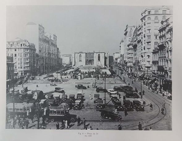 Praça da Sé em 1929