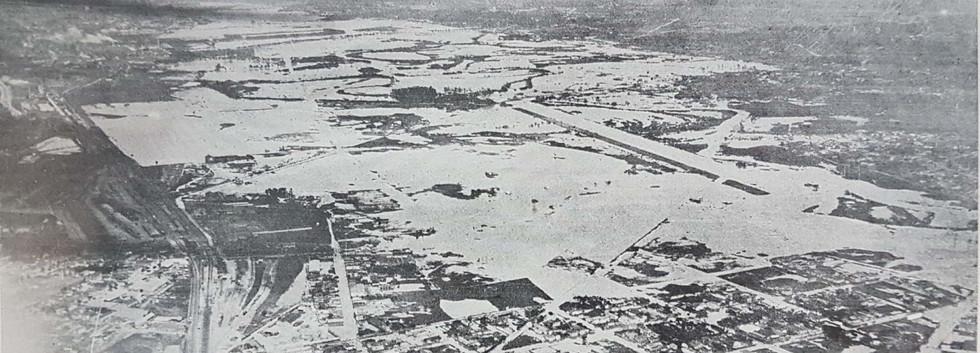 Inundação no Tiete