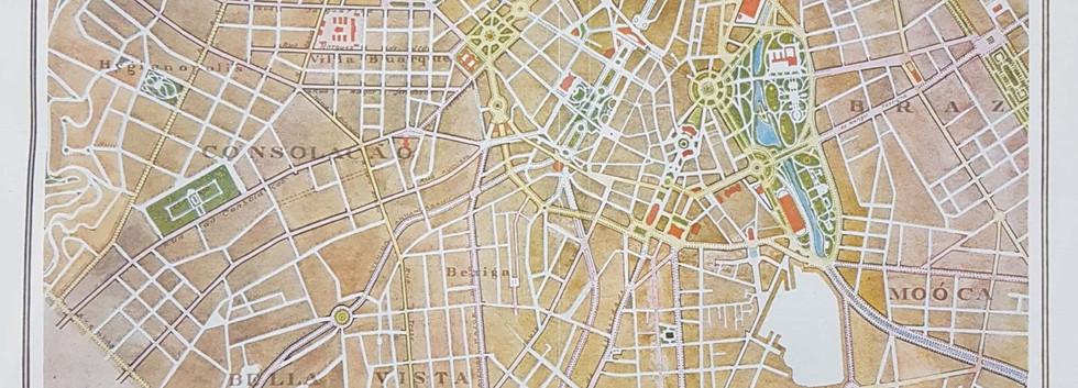 Plano das avenidas de São Paulo, 1930