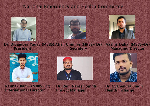 National Health and Emergency Committee.