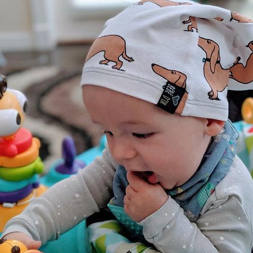 Wiener Dog Slouchie Beanie Hat