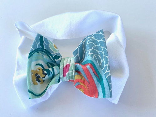 Summer Bloom Bow Headband