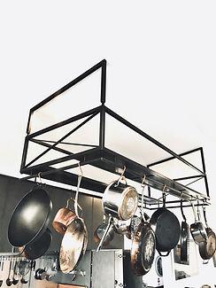 Pot rack by DELAGE