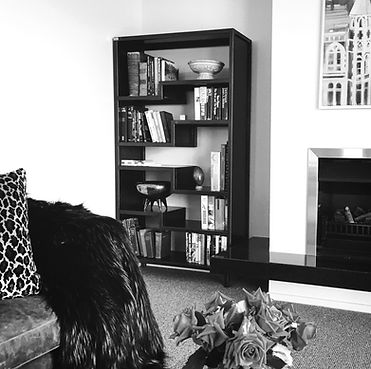 Bookshelf custom designed and made by DELAGE