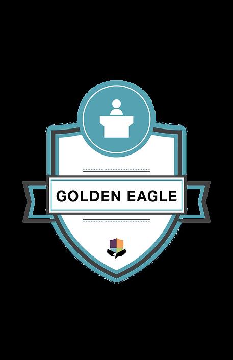 Golden Eagle Badge