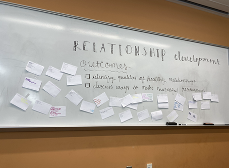 Session 3: Relationship Building Recap
