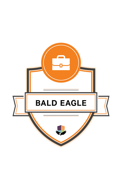 Bald Eagle Badge