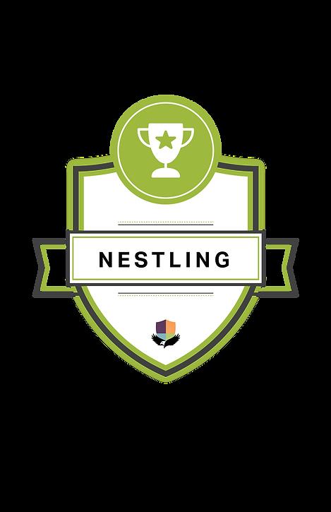 Nestling Badge