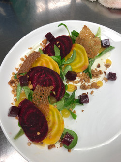 Goat Cheese and Beets salad