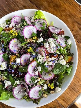 Salad virtual cooking class
