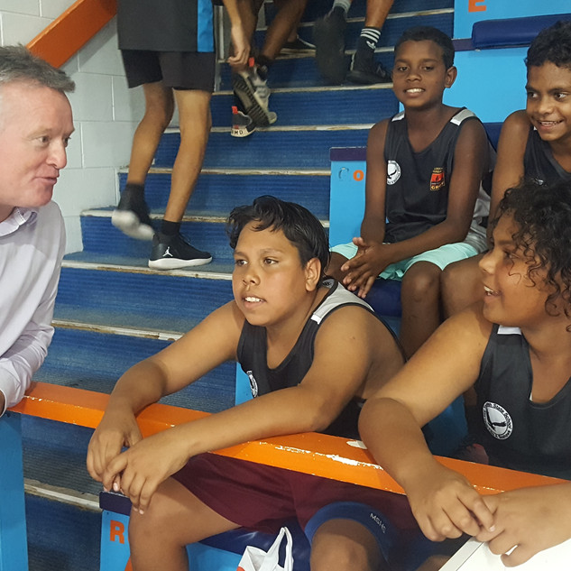 Michael Healy_Clontarf Academy Basketbal
