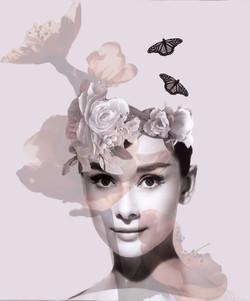 Audrey Hepburn Photo Collage