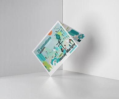 graphiste - brochure - illustration - poitiers