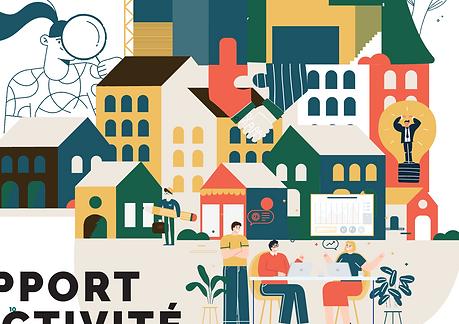 poitiers - graphisme - illustration - rapport d'activité