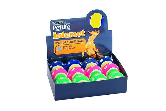 Petlife sponge tennis balls