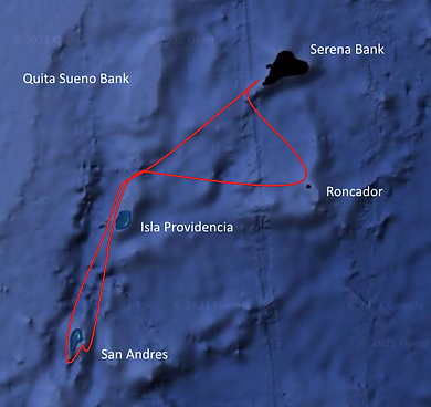 San Andres New Route.png