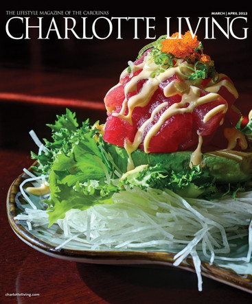 Charlotte Living Magazine Cover