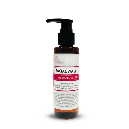 Facial Wash - Geranium Leaf