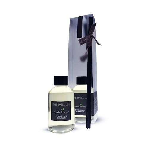 Reed Diffuser - Citronella & Geranium Scents