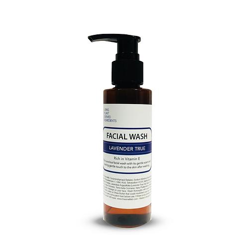 Lavender True Facial Wash