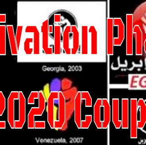 Activation Phase Coup 2020 - Show Links 11/2/2020