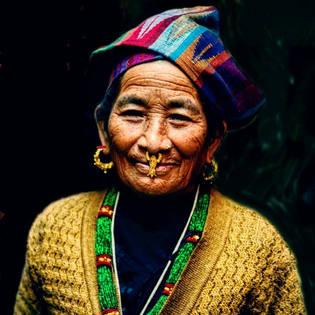 Tibetli kadın