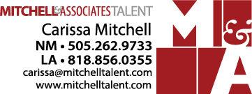 Mitchell & Associates Talent Card