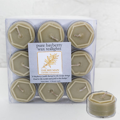 Bayberry Tealights- Box of 9