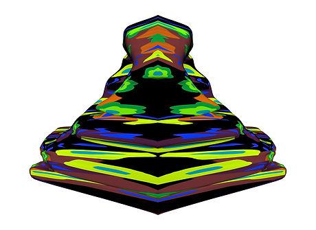 3D rendered artwork by Richard McCoy
