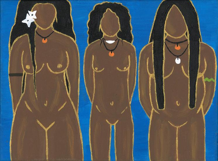 """famalao'an | women"" print"