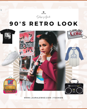 90's Retro Look must have !