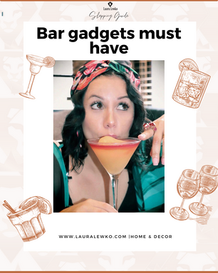 Bar gadgets must have