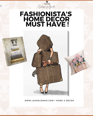 Fashionistas home decor must to have!
