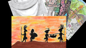 CHILDREN'S ART FEATURES IN 2020 SHOW CALENDAR