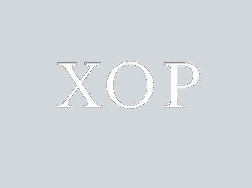 XOP Vinyl Sticker