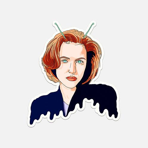 Dana Scully Sticker