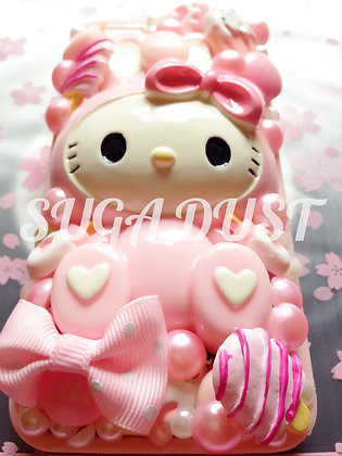 Pink Kitty Bow Case