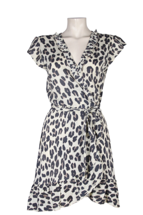 Bindi Short Wrap Dress