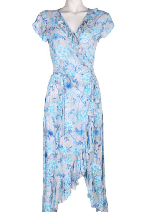 Bindi Long Wrap Dress
