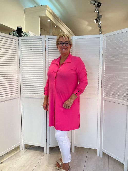 Plus basics blouse roze
