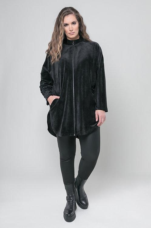 Mat vest velours
