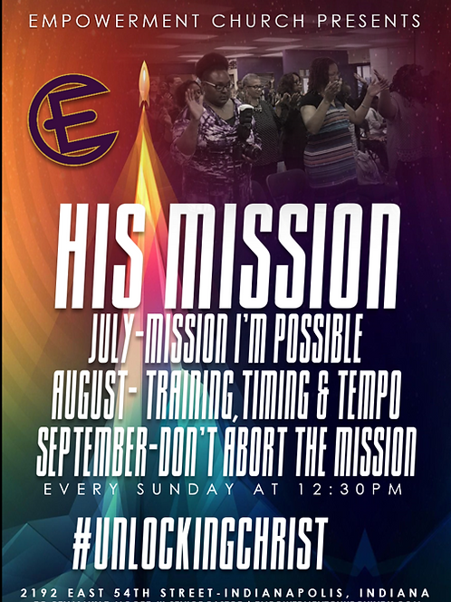 His Mission: Mission I'm Possible (July) - CD Series