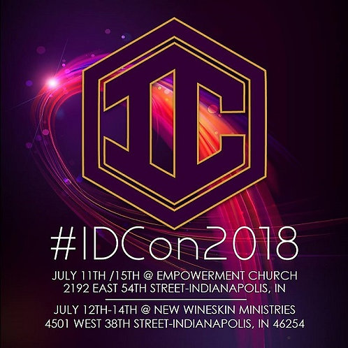 IDCon2018: The Identity Conference Weekend (links)