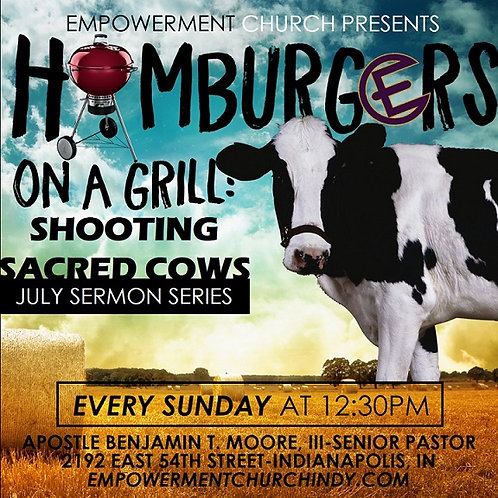 Hamburgers on a Grill: Shooting Sacred Cows - DVD Series